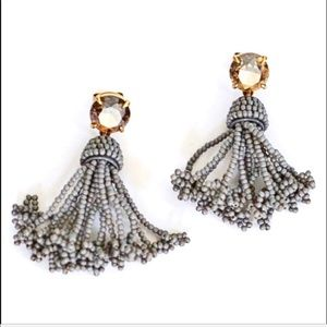 JCREW BEADED JEWEL EARRING